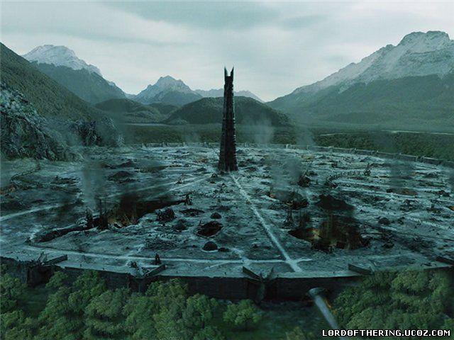 Вид Крепости Изенгард