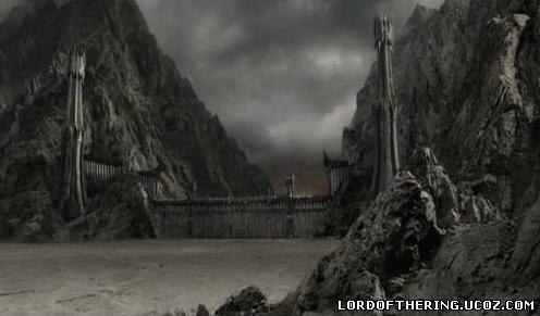 Чёрные врата строение эпохи Войны за кольцо